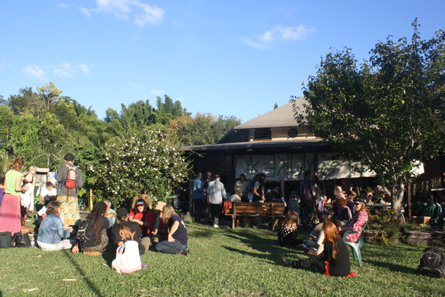 Community event at Djanbung Gardens