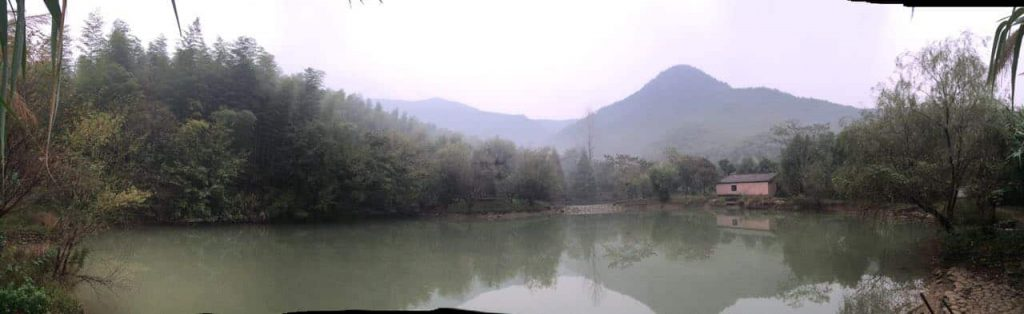 Anji valley, once a polluted industrial wasteland has been transformed in 10 years