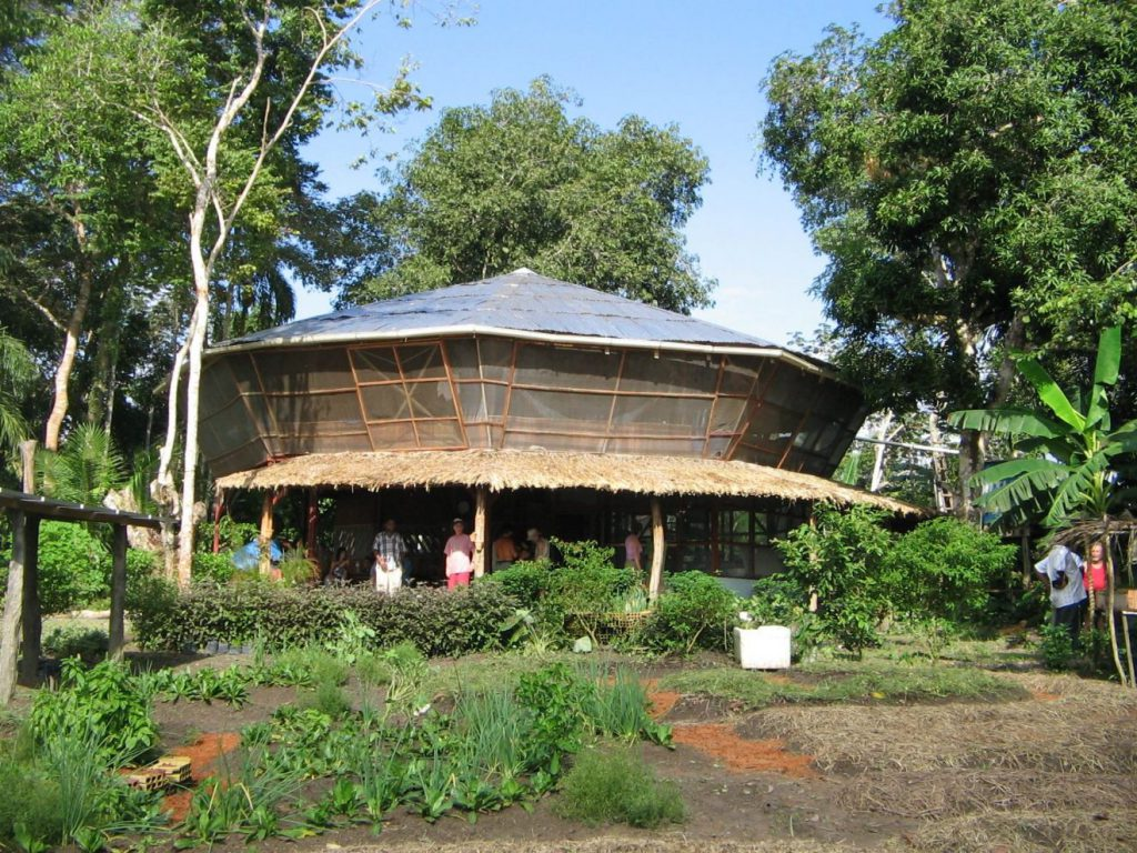 The Amazon Permaculture outreach centre at Boa Vista