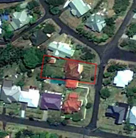 Our house from Space!