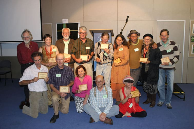 permaculture elders presented with award