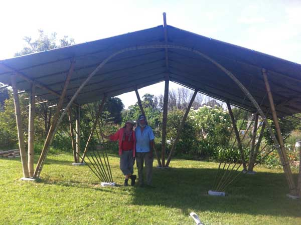 The Bamboo Classroom at Mullumbimby Community Gardens