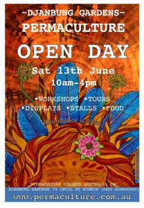 Open Day 2015 poster - artwork by QuinnEarthchild
