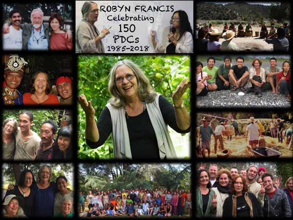 Celebrating 150 PDCs around the world with Robyn Francis